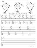 Letter K Trace