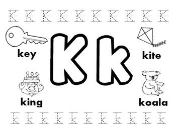 Letter K Worksheets! by Kindergarten Swag | Teachers Pay Teachers