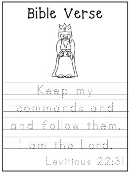 Letter K is for king. Bible Letter of the Week.