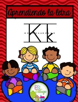 Aprendiendo la letra K