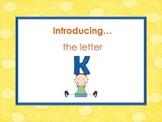 Letter Kk - Alphabet Lesson – Power Point – Interactive – Teaching the Letter K