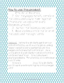 Letter Kk Book