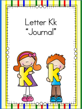 Letter Kk Journal