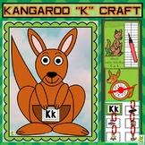 Letter Kk Craft/Kangaroo Craft/Kangaroo Craft/Alphabet Games/Letter Worksheets