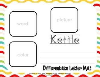 Letter Kk Language & Literacy Activity Center {COMMON CORE ALIGNED}