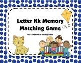 Letter Kk Memory Game