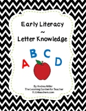 Letter Knowledge Apple Theme