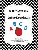 Letter Knowledge Apple Theme