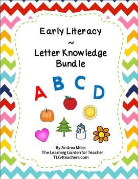 Letter Knowledge Boards Bundle