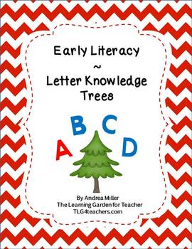 Letter Knowledge Christmas Tree Theme
