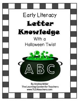 Letter Knowledge Boards Halloween Theme