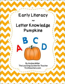 Letter Knowledge Boards Pumpkin Theme