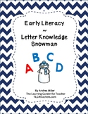 Letter Knowledge Snowman Theme