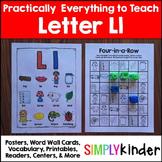 Letter L | Alphabet Printables and Centers