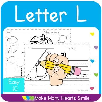 Easy 10: Letter L