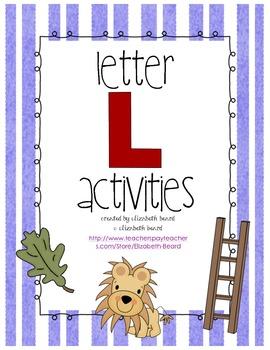 Letter L Activities