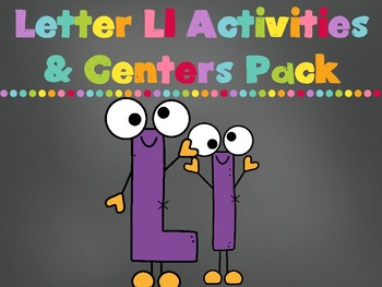 Letter Ll Activities Pack (CCSS)