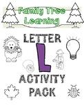 Letter L Activity Pack!