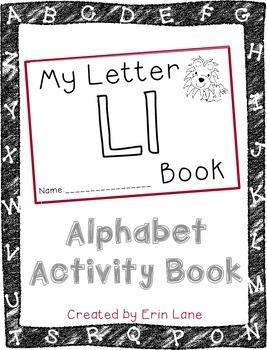 Letter L: Alphabet Activity Book