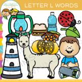 Letter L Alphabet Clip Art