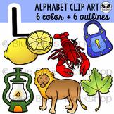 Letter L Clip Art Alphabet / Beginning Sound L