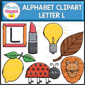 Letter L Alphabet Clipart  (Beginning Sounds)