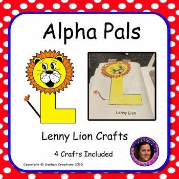 Letter L Alphabet Craft Lenny Lion Alpha Pal