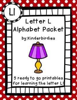 Letter L Alphabet Packet