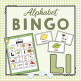 Letter L Bingo Game