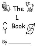 Letter L Book