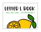Letter L Book: Handwriting Practice