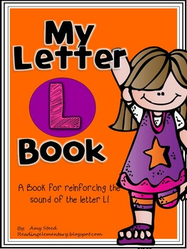 Letter L Book of Beginning Sounds-Emergent Reader w/Runnin