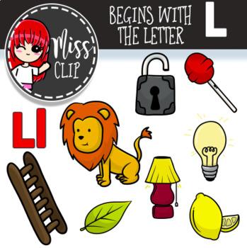 Letter L Clip Art Bundle {Miss Clip} Alphabet Commercial Use