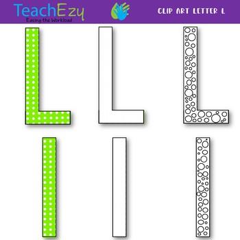 Letter L Clip Art Pack