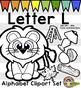 Alphabet Clip Art: Letter L Phonics Clipart Set - Clip Art