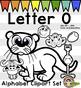 Letter O Clip Art - Phonics Clipart Set/Beginning Sounds