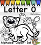 Alphabet Clip Art: Letter O Phonics Clipart Set - Clip Art