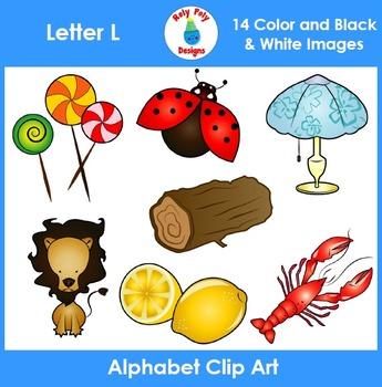 Letter L Clip Art Set