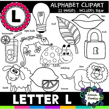 Letter L Clipart - 22 images! Personal or Commercial use