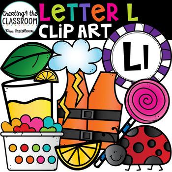 Letter L Clipart {Alphabet Clip art}