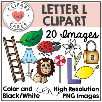 Letter L Alphabet Clipart by Clipart That Cares