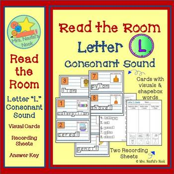 Alphabet Read the Room Letter L
