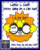 Letter L Craft for Kindergarten: We're Going On a Lion Hunt