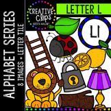 Letter L {Creative Clips Digital Clipart}