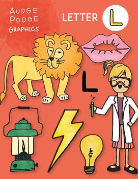 Letter L Graphics