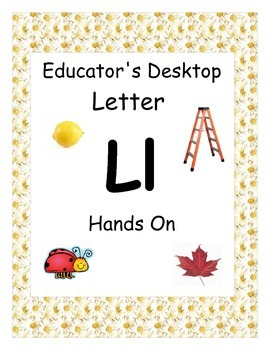 Letter L- Hands On Activities