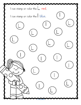 Alphabet L Letter of the Week Phonics Recognition, Sound, Tracing & Craftivities