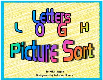 Letter L O G H Picture Sort  Saxon Phonics