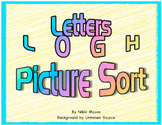 Letter L O G H Picture Sort  Saxon Phonics
