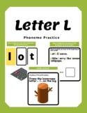 Letter L- Phoneme Practice